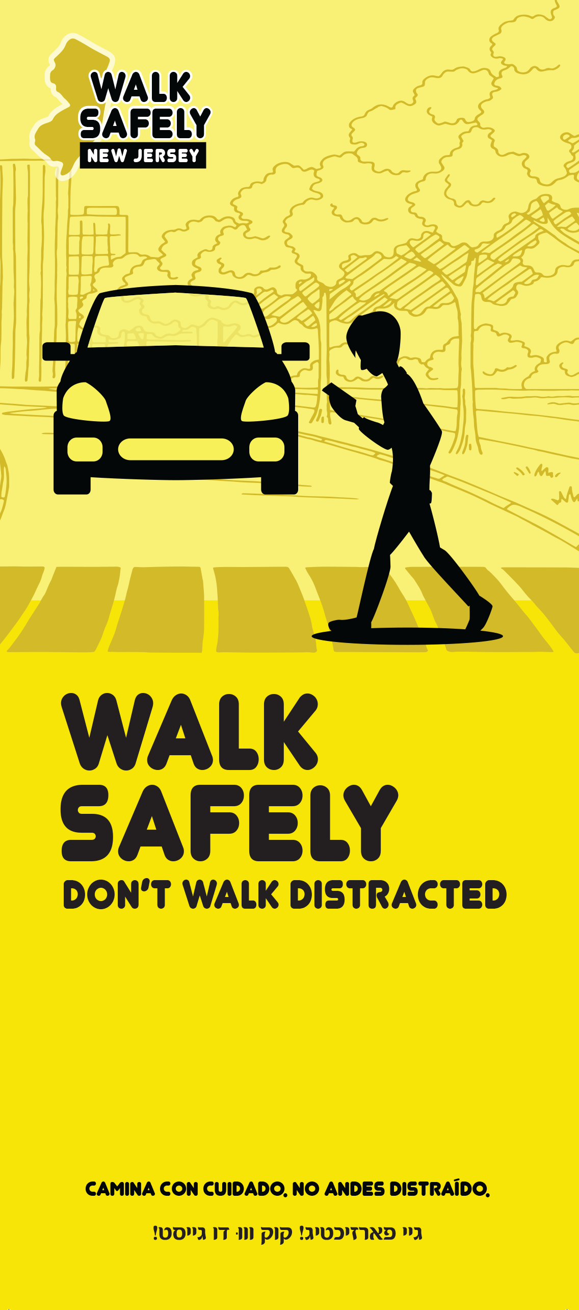 Lakewood Safety Campaign Begins W Pedestrian Safety Cards